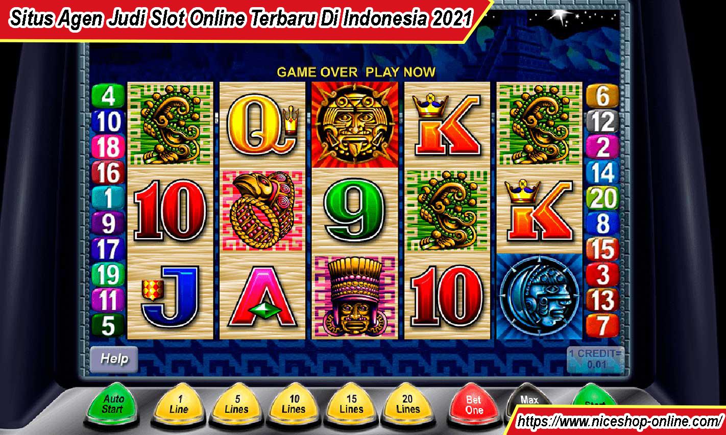 Situs Agen Judi Slot Online Terbaru Di Indonesia 2021
